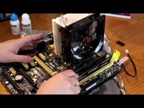 How To Install A Cooler Master Hyper 212 EVO On Intel 1150