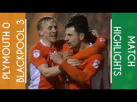 Highlights | Plymouth 0 Blackpool 3