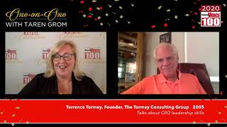 Terry Tormey, The Tormey Consulting Group – 2020 PharmaVOICE 100 Celebration
