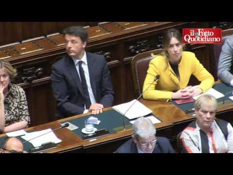"""Brexit, Di Battista a Renzi: """"Arrogante borioso. Mi querela per Boschi e Etruria? Sono medaglie al v"""