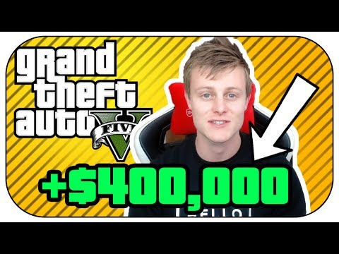 How To make $400,000 PER DAY in GTA 5 Online SOLO & AFK! (5 Easy Steps)