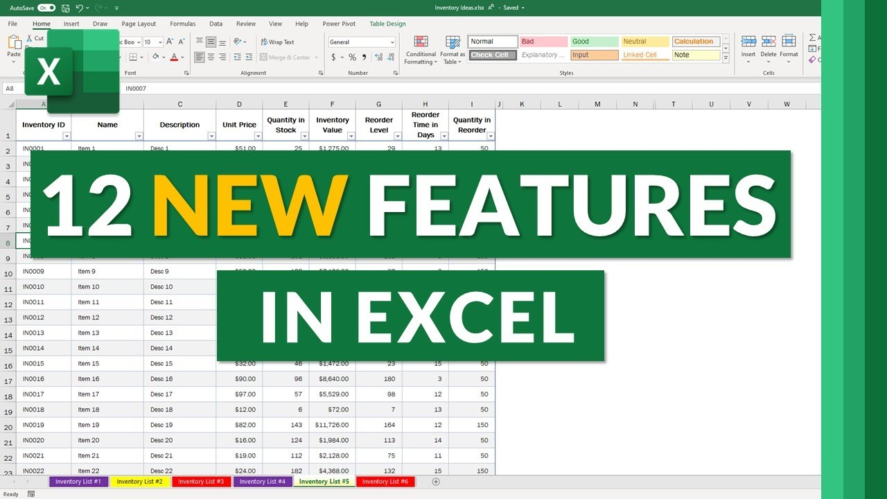 12 New features in Excel for 2021 // Updates in Microsoft Excel Web and Desktop