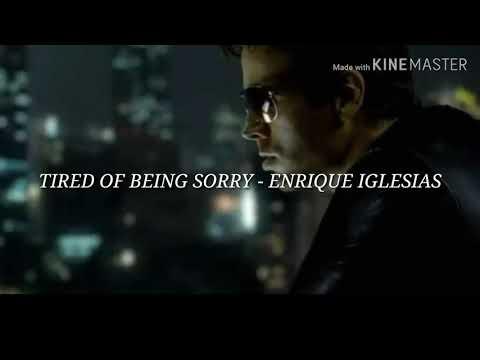 Tired Of Being Sorry - Enrique Iglesias (Subtitulada al español)