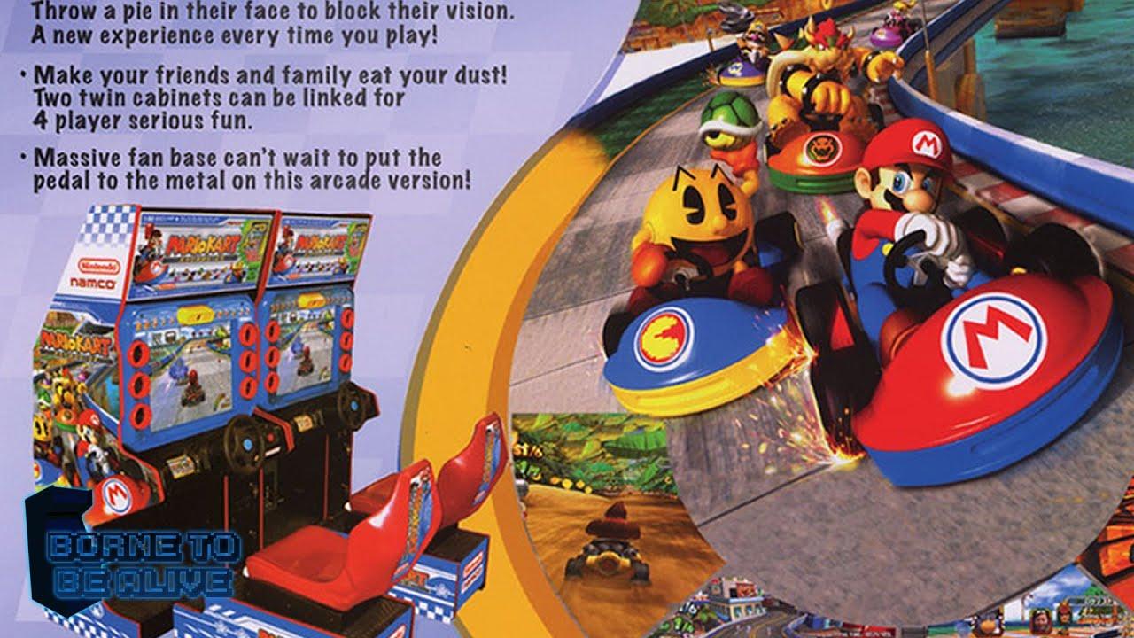 borne arcade mario kart