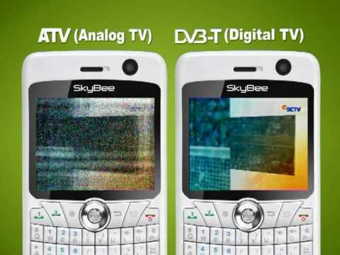 SkyBee 60AL Hybrid TV Dual GSM Phone