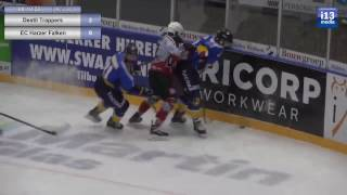 Destil Trappers vs. de EC Harzer Falken(6 januari 2017)