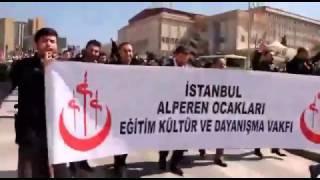 """Muhsin Başkan """"Ben Türküm Türk Esir Olmaz"""" / Emir Faruk Uzunpınar Ankara 25 Mart Alperenler"""