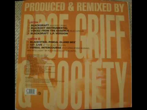 Professor Griff & Society - 107. Live
