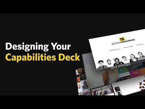 How To Create Your Agency's Capabilities Deck