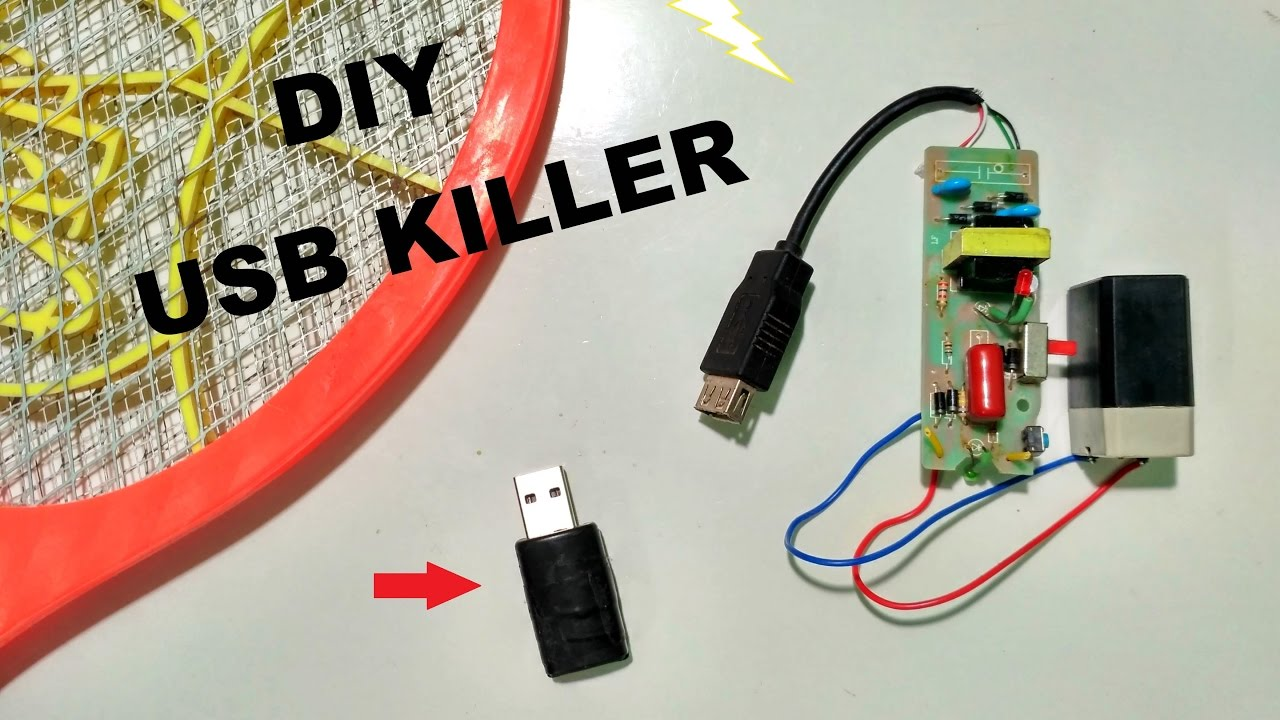 How To Make Usb Killer Youtube Connect Generator House Wiring On Kill Switch Diagram