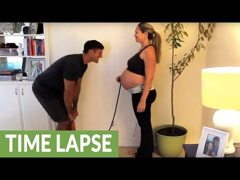 How to make a baby: A pregnancy time lapse