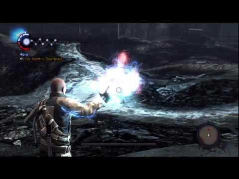 Cole vs Kessler Infamous 1 boss battle hero version