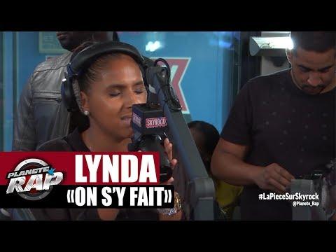 """Lynda """"On s'y fait"""" en live dans Planète Rap"""