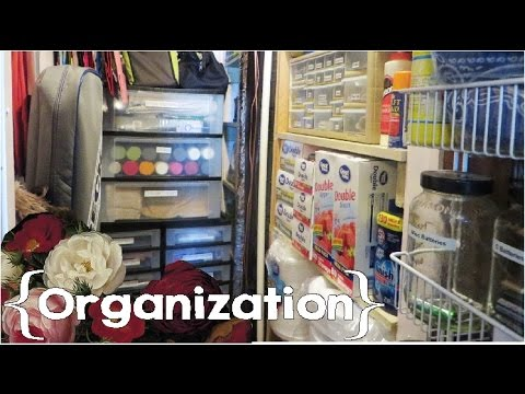 Utility Closet Tour Large Family Small House Organization