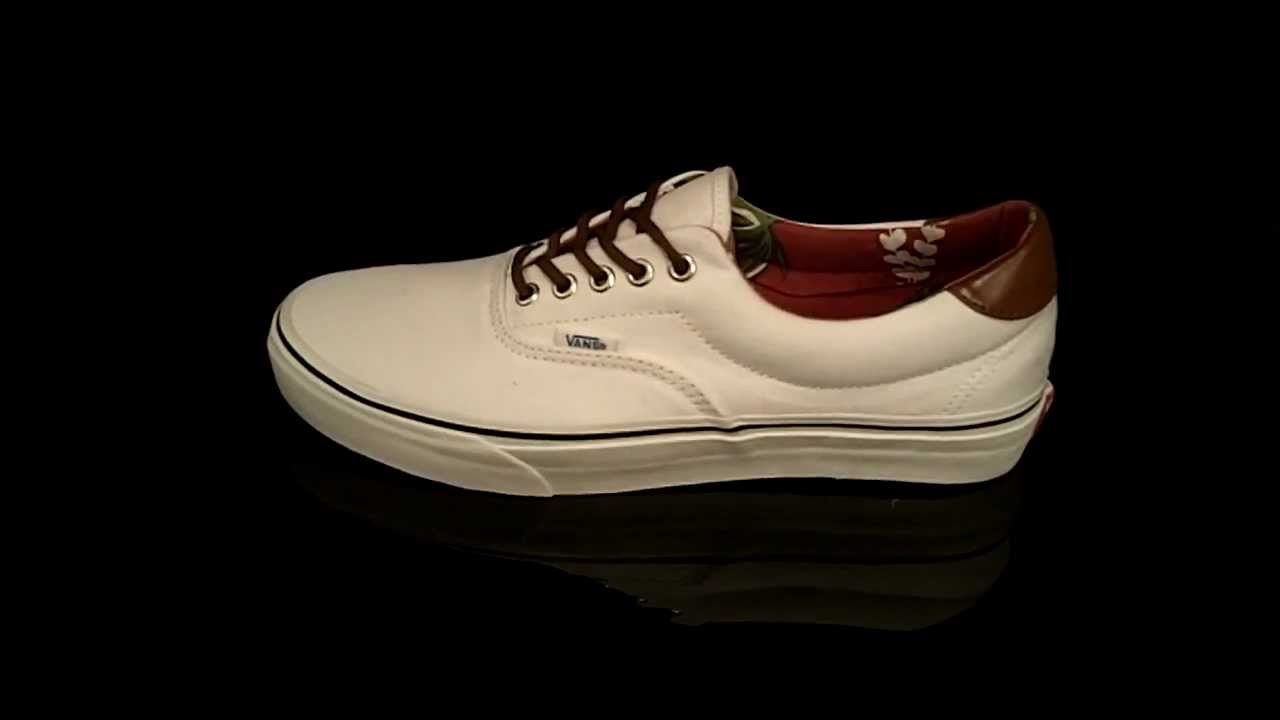 Vans ERA 59 sneaker Aloha C L True White VEXD7FO - YouTube 15636cb2ce
