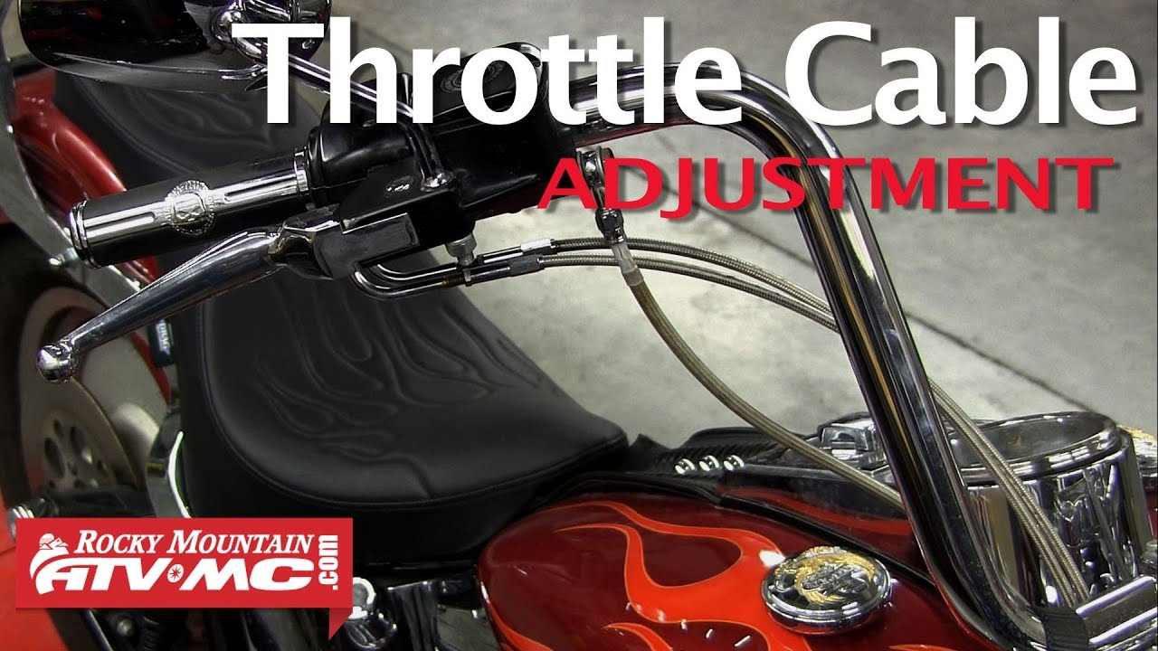 Harley Davidson Dual Throttle Cable Adjustment