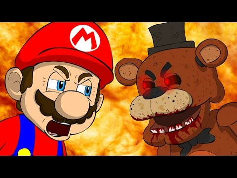 Thumbnail: MARIO VS FREDDY - Five Nights At Freddy's Animation Parody
