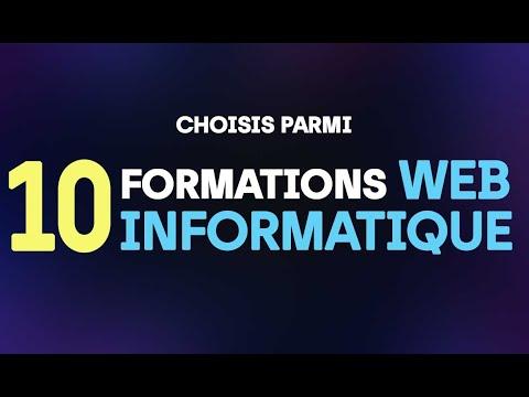 Vidéo l'IPSSI une École d'Informatique, Web et Digital Marketing