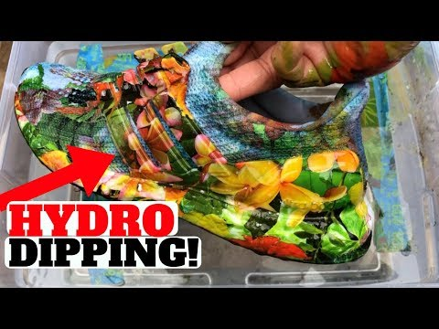HYDRO DIP SHOE EXPERIMENT!! ULTRA BOOST FIRST TRY!