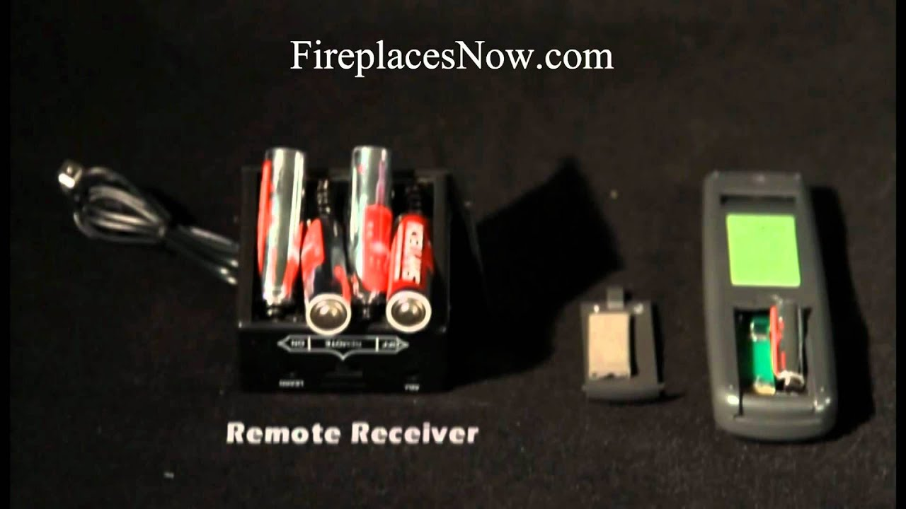 How To Install A Fireplace Remote - YouTube