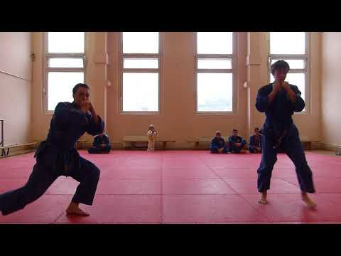exam on real aikido. adult group
