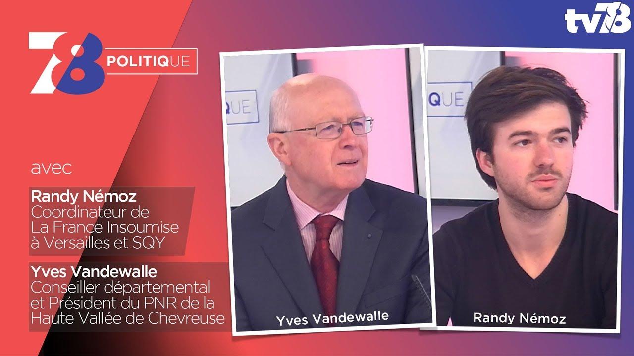 7/8 Politique – Emission du 23 février 2018 avec R. Nemoz (LFI) et Y. Vandewalle (LR)