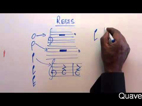 Part 17 - Music Theory Lessons Online - Rest Symbols and Corresponding note values