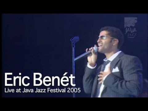 "Eric Benet ""Hurricane"" live at Java Jazz Festival 2005"