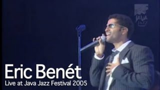 "Eric Benet ""Hurricane"" live at Java Jazz Festival 2005"