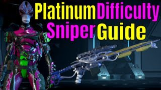 Mass Effect Andromeda Multiplayer - PLATINUM Difficulty SNIPER GUIDE | PLATINUM Character Build