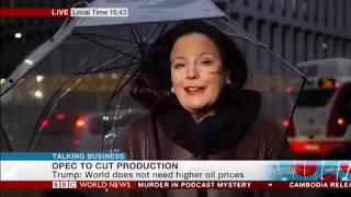 Cornelia Meyer Talking Business BBC World News Re OPEC  (06/12/2018)
