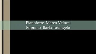 AVE MARIA (Bach-Gounod) - Ilaria Tatangelo, Marco Velocci - pianovoice duo - Piano bases Collection