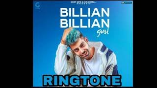 GURI - BILLIAN BILLIAN | SONG RINGTONE 2018