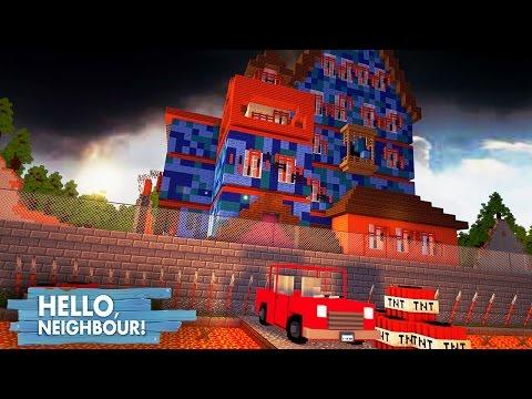 Minecraft: HELLO NEIGHBOR - A CASA MAIS SEGURA DO MUNDO!