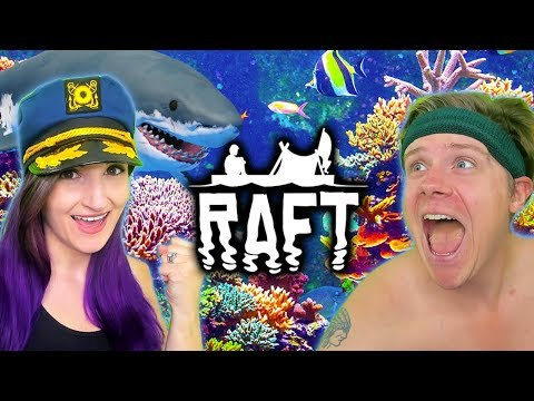 Scuba Diving & Seagull Stabbing?!   Raft #4 (Funny Moments)