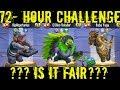 Monster Legends | 72-Hour Challenge | Baba Yaga, El Dino Volador, HipHopotamus
