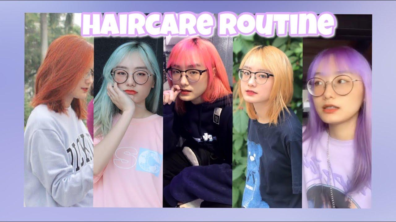 MY HAIRCARE ROUTINE | Chăm Sóc Tóc Tẩy Cực Đơn Giản | Miha Chan | Tổng hợp các nội dung liên quan dầu dưỡng tóc nam mới cập nhật