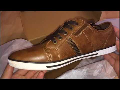 Kenneth Cole Unlisted Mens Shoes Unboxing