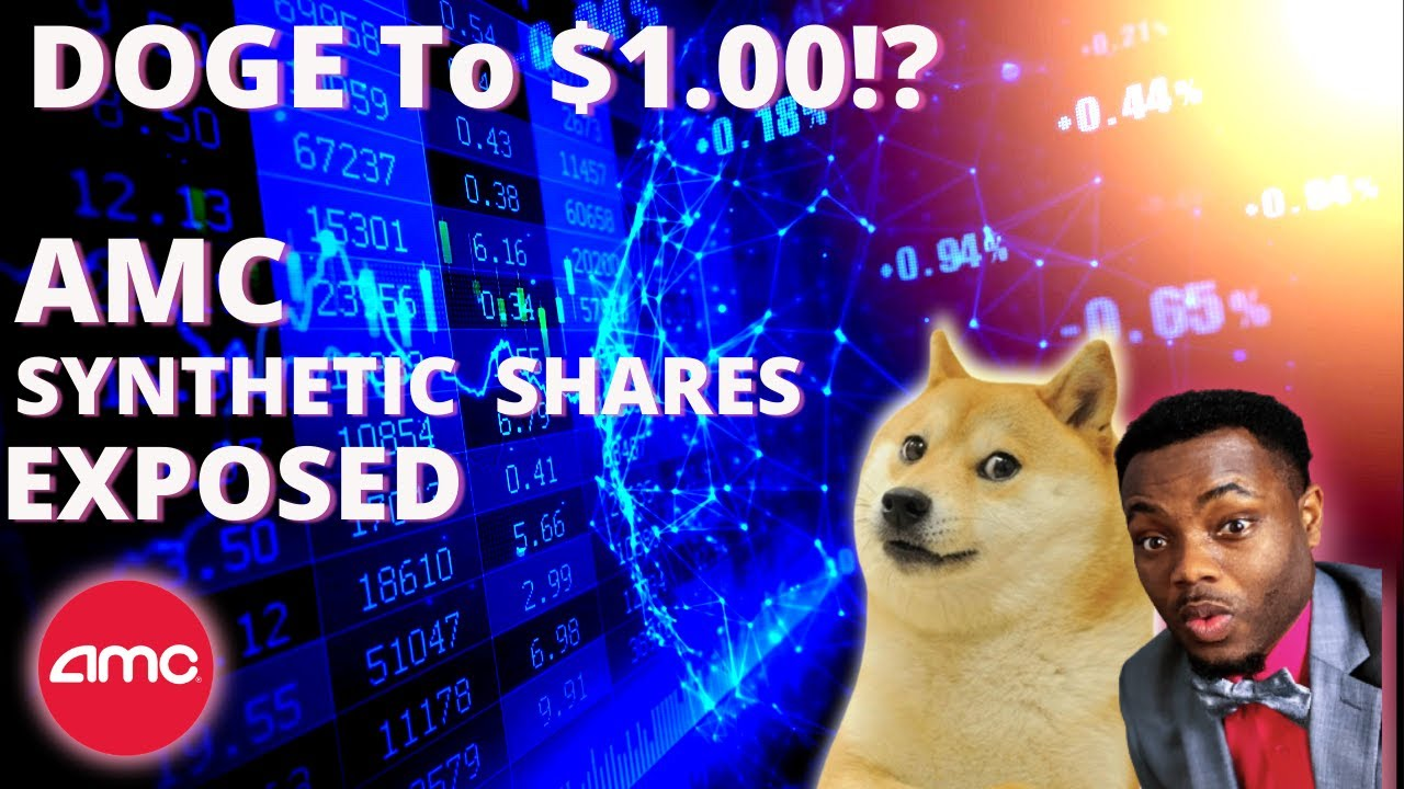 Dogecoin to $1 | AMC Stock - Synthetic Shares EXPOSED! Hurry! 😱