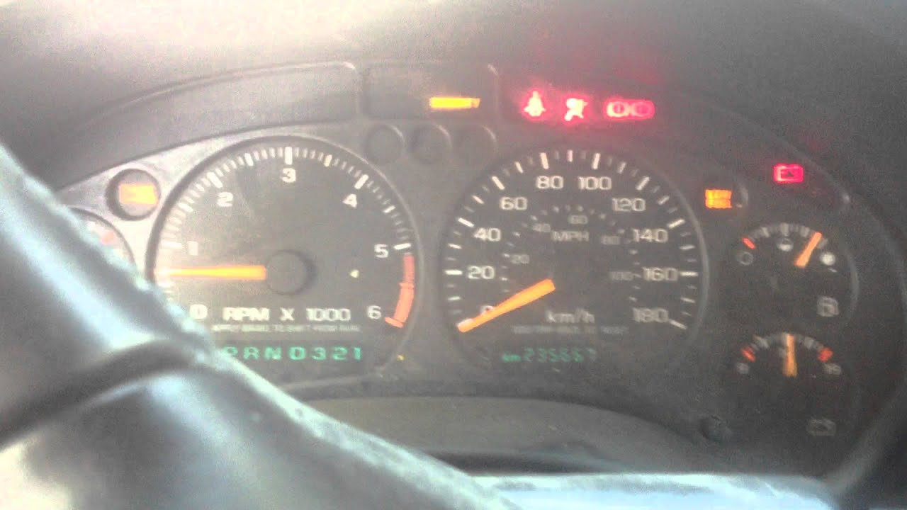 2001 chevy Blazer , misfire/ hitting 1500 rpm and bogging it self out