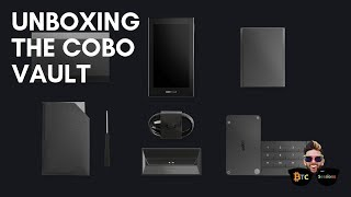 Cobo Vault Unboxing - A Military Grade Hardware Wallet