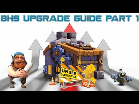Builder Hall 9 (BH9) Upgrade Guide Part 1
