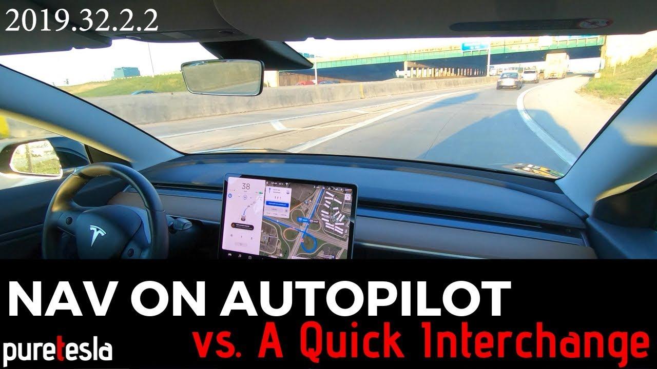 Navigate on Autopilot vs. a Quick Interchange (Comparison ...