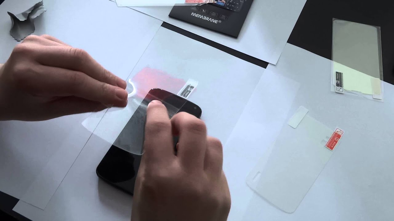 Comment mettre un film de protection sur son smartphone youtube - Comment mettre un enduit de lissage ...