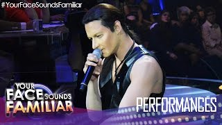 "Your Face Sounds Familiar: Michael Pangilinan as Bono of U2 - ""With Or Without You"""