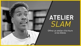"Atelier Slam avec Marc-Olivier Jean ""Élémo"""
