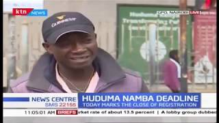 Low turnout witnessed on last day of Huduma Namba registration
