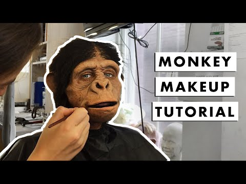 MY PET MONKEY | Prosthetic Makeup Application