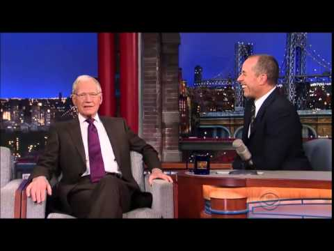 Jerry Seinfeld's last time on Letterman