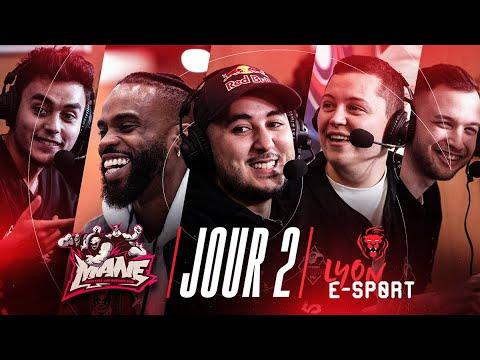 Lyon E-sport : CHAP PREND LES COMMANDES DES MANE ! (ft.Chap,Mickalow,Carbon,Akytio) DAY 2